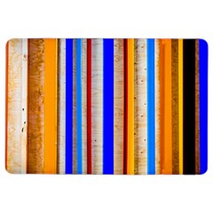 Colorful Wood And Metal Pattern Ipad Air 2 Flip by FunnyCow