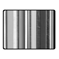Shades Of Grey Wood And Metal Fleece Blanket (small) by FunnyCow