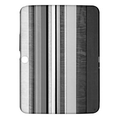 Shades Of Grey Wood And Metal Samsung Galaxy Tab 3 (10 1 ) P5200 Hardshell Case  by FunnyCow