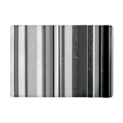 Shades Of Grey Wood And Metal Ipad Mini 2 Flip Cases by FunnyCow