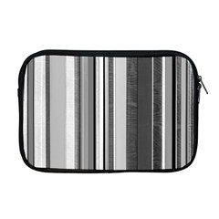 Shades Of Grey Wood And Metal Apple Macbook Pro 17  Zipper Case by FunnyCow