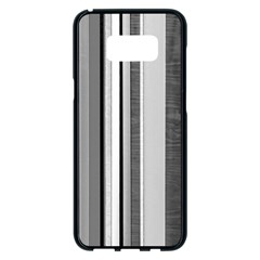 Shades Of Grey Wood And Metal Samsung Galaxy S8 Plus Black Seamless Case by FunnyCow