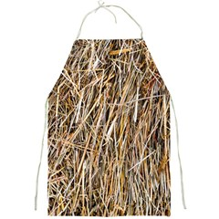 Dry Hay Texture Full Print Aprons by FunnyCow