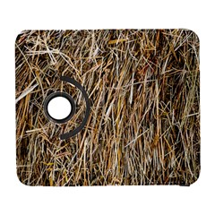 Dry Hay Texture Samsung Galaxy S  Iii Flip 360 Case by FunnyCow