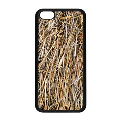 Dry Hay Texture Apple Iphone 5c Seamless Case (black) by FunnyCow