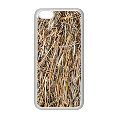 Dry Hay Texture Apple Iphone 5c Seamless Case (white) by FunnyCow