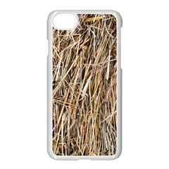 Dry Hay Texture Apple Iphone 7 Seamless Case (white) by FunnyCow