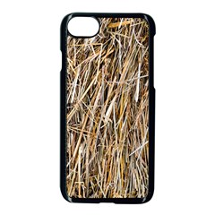 Dry Hay Texture Apple Iphone 8 Seamless Case (black) by FunnyCow