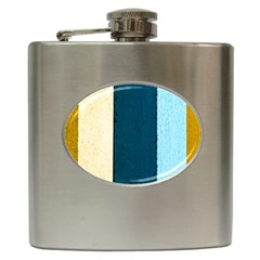 Flat Angle Hip Flask (6 Oz) by FunnyCow