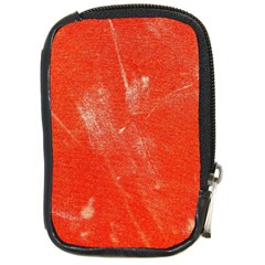 Grunge Red Tarpaulin Texture Compact Camera Cases by FunnyCow