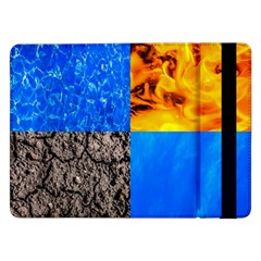 The Fifth Inside Vertical Pattern Samsung Galaxy Tab Pro 12 2  Flip Case by FunnyCow