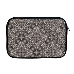 Luxury Modern Baroque Pattern Apple Macbook Pro 17  Zipper Case