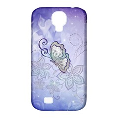 Wonderful Butterlies With Flowers Samsung Galaxy S4 Classic Hardshell Case (pc+silicone) by FantasyWorld7