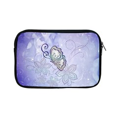 Wonderful Butterlies With Flowers Apple Ipad Mini Zipper Cases by FantasyWorld7