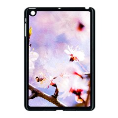 Pink Sakura Purple Background Apple Ipad Mini Case (black) by FunnyCow