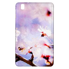 Pink Sakura Purple Background Samsung Galaxy Tab Pro 8 4 Hardshell Case by FunnyCow