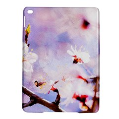 Pink Sakura Purple Background Ipad Air 2 Hardshell Cases by FunnyCow