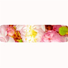 Pink Flowering Almond Flowers Large Bar Mats by FunnyCow