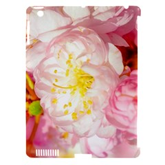 Pink Flowering Almond Flowers Apple Ipad 3/4 Hardshell Case (compatible With Smart Cover) by FunnyCow
