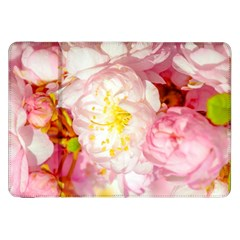 Pink Flowering Almond Flowers Samsung Galaxy Tab 8 9  P7300 Flip Case by FunnyCow