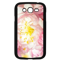 Pink Flowering Almond Flowers Samsung Galaxy Grand Duos I9082 Case (black) by FunnyCow