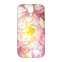 Pink Flowering Almond Flowers Samsung Galaxy S4 I9500/i9505  Hardshell Back Case by FunnyCow