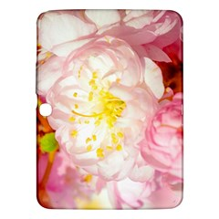 Pink Flowering Almond Flowers Samsung Galaxy Tab 3 (10 1 ) P5200 Hardshell Case  by FunnyCow