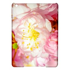 Pink Flowering Almond Flowers Ipad Air Hardshell Cases by FunnyCow