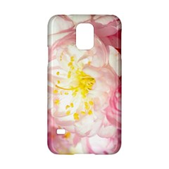 Pink Flowering Almond Flowers Samsung Galaxy S5 Hardshell Case  by FunnyCow