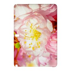 Pink Flowering Almond Flowers Samsung Galaxy Tab Pro 10 1 Hardshell Case by FunnyCow