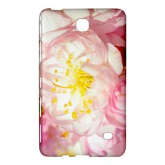 Pink Flowering Almond Flowers Samsung Galaxy Tab 4 (7 ) Hardshell Case  by FunnyCow