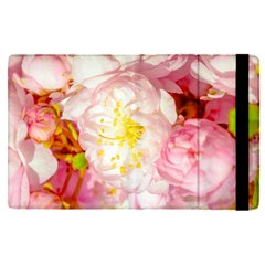 Pink Flowering Almond Flowers Apple Ipad Pro 12 9   Flip Case by FunnyCow