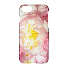 Pink Flowering Almond Flowers Apple Iphone 8 Hardshell Case by FunnyCow