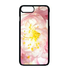 Pink Flowering Almond Flowers Apple Iphone 8 Plus Seamless Case (black) by FunnyCow