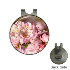 Beautiful Flowering Almond Hat Clips With Golf Markers by FunnyCow