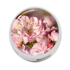 Beautiful Flowering Almond 4 Port Usb Hub (two Sides) by FunnyCow