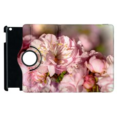 Beautiful Flowering Almond Apple Ipad 3/4 Flip 360 Case by FunnyCow