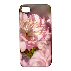 Beautiful Flowering Almond Apple Iphone 4/4s Hardshell Case With Stand by FunnyCow