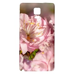 Beautiful Flowering Almond Samsung Note 4 Hardshell Back Case by FunnyCow