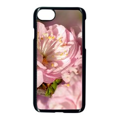Beautiful Flowering Almond Apple Iphone 8 Seamless Case (black) by FunnyCow