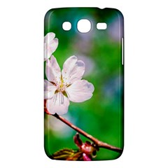 Sakura Flowers On Green Samsung Galaxy Mega 5 8 I9152 Hardshell Case  by FunnyCow