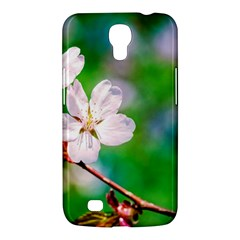 Sakura Flowers On Green Samsung Galaxy Mega 6 3  I9200 Hardshell Case by FunnyCow