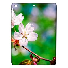Sakura Flowers On Green Ipad Air Hardshell Cases by FunnyCow