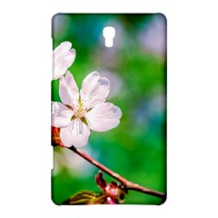 Sakura Flowers On Green Samsung Galaxy Tab S (8 4 ) Hardshell Case  by FunnyCow