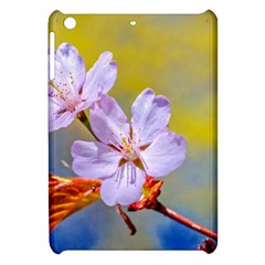 Sakura Flowers On Yellow Apple Ipad Mini Hardshell Case by FunnyCow