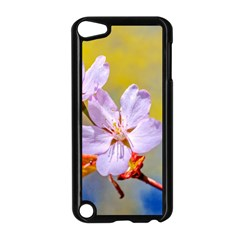 Sakura Flowers On Yellow Apple Ipod Touch 5 Case (black) by FunnyCow