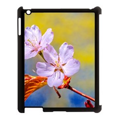 Sakura Flowers On Yellow Apple Ipad 3/4 Case (black) by FunnyCow