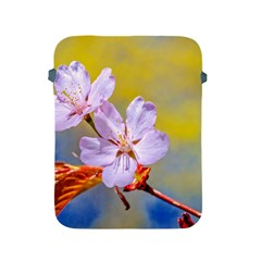Sakura Flowers On Yellow Apple Ipad 2/3/4 Protective Soft Cases by FunnyCow