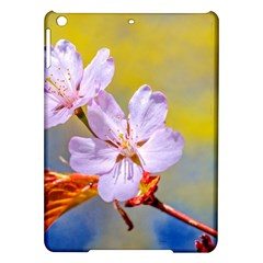 Sakura Flowers On Yellow Ipad Air Hardshell Cases by FunnyCow
