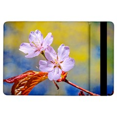 Sakura Flowers On Yellow Ipad Air Flip by FunnyCow